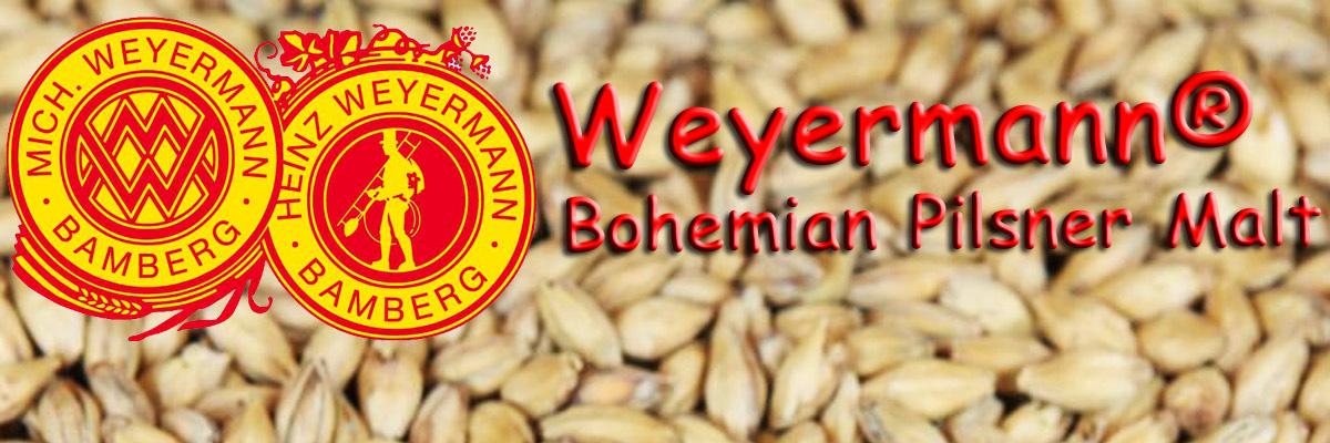 Bohemian Pilsner Malt Weyermann® Malty Monday