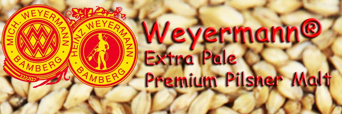 Extra Pale Premium Pilsner Malt Weyermann® Malty Monday