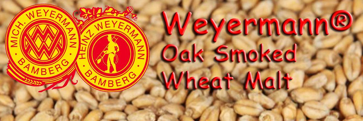 Oak Smoked Wheat Malt Weyermann® Malty Monday