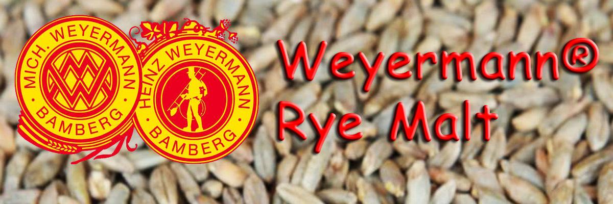 Pale Rye Malt Weyermann® Malty Monday